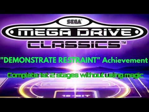 "Sega Mega Drive Classics ""DEMONSTRATE RESTRAINT"" Shadow Dancer Achievement guide thumbnail"