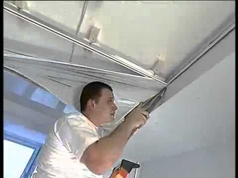 видео: Монтаж натяжных потолков: технология