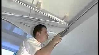 видео Где заказать монтаж натяжных  потолков