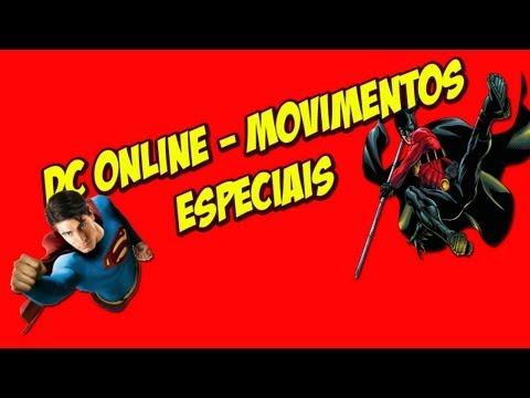 DC Universe Online - Movimentos Especiais!!! #1