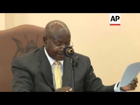 Uganda's president signs controversial anti-gay bill