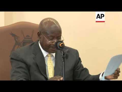 Uganda's president signs controversial anti-gay bill