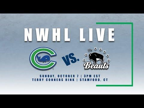 NWHL Live: Buffalo @ Connecticut 10.07.18
