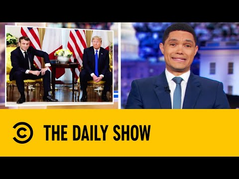 Trump & Macron Clash At NATO Meeting In London | The Daily Show With Trevor Noah