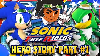 Sonic Free Riders - Hero Story Part 1 - NEW INTRO & Bodycam!