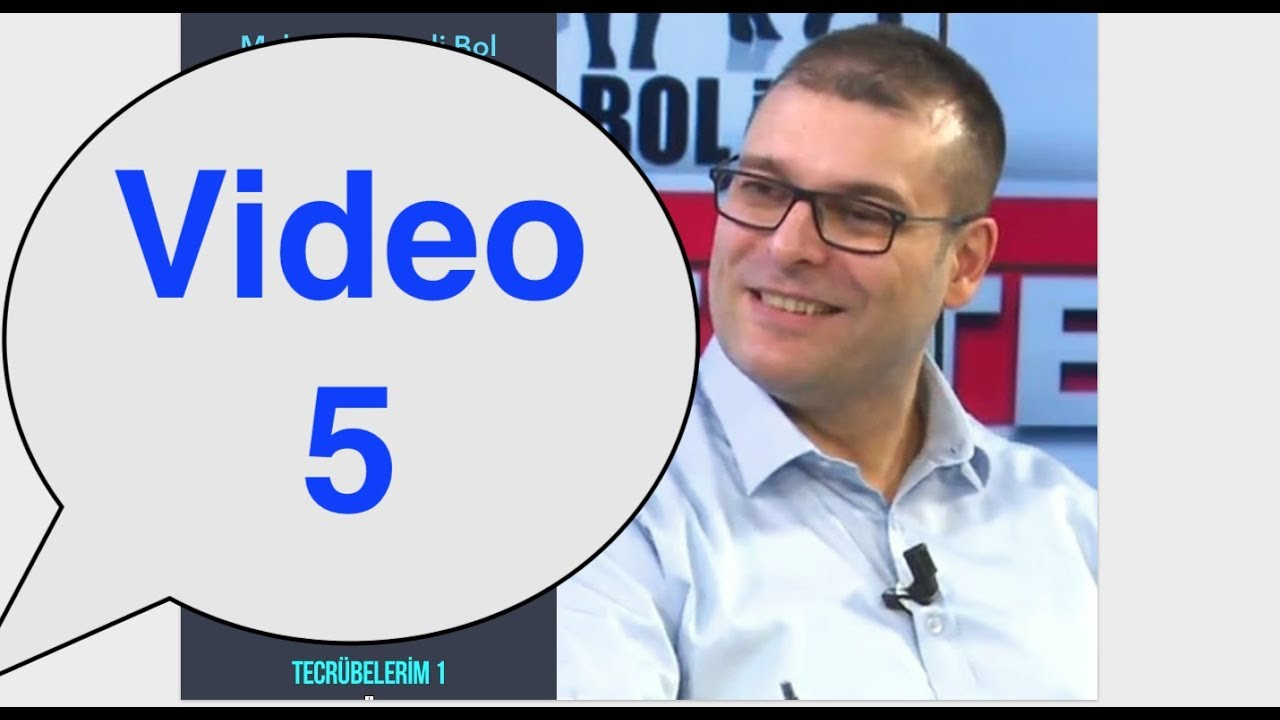 Para ile Savaşma Barış Sesli Kitap - Video 5