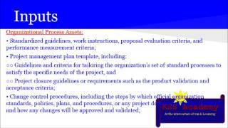 PMP® Exam Prep Online, PMP Tutorial 41   Planning Process Group   Develop Project Management Plan