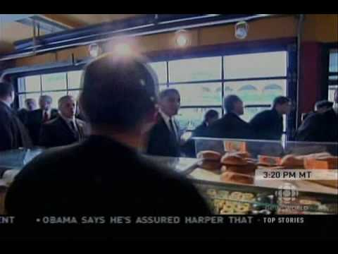 Obama visits the Byward Market