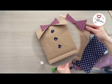 Как упаковать мужской подарок. Рубашка с бабочкой