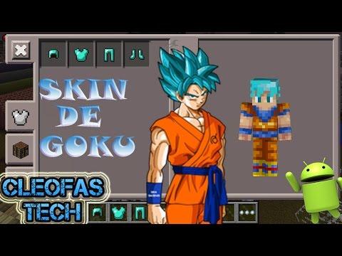 Minecraft Spielen Deutsch Skins Para Minecraft Pe Black Goku Bild - Skin para minecraft pe goku