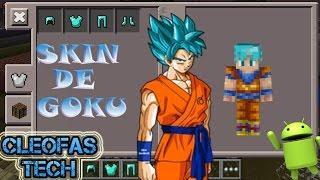 Minecraft Spielen Deutsch Baixar Skin Para Minecraft Pe Goku Bild - Skins para minecraft pocket edition de goku
