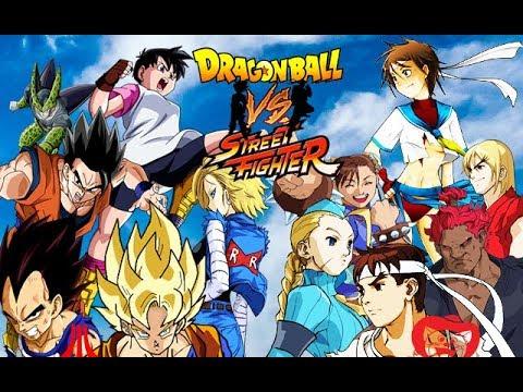 Dragon Ball VS. Street Fighter WIP Showcase  MUGEN (READ DESCRIPTION)
