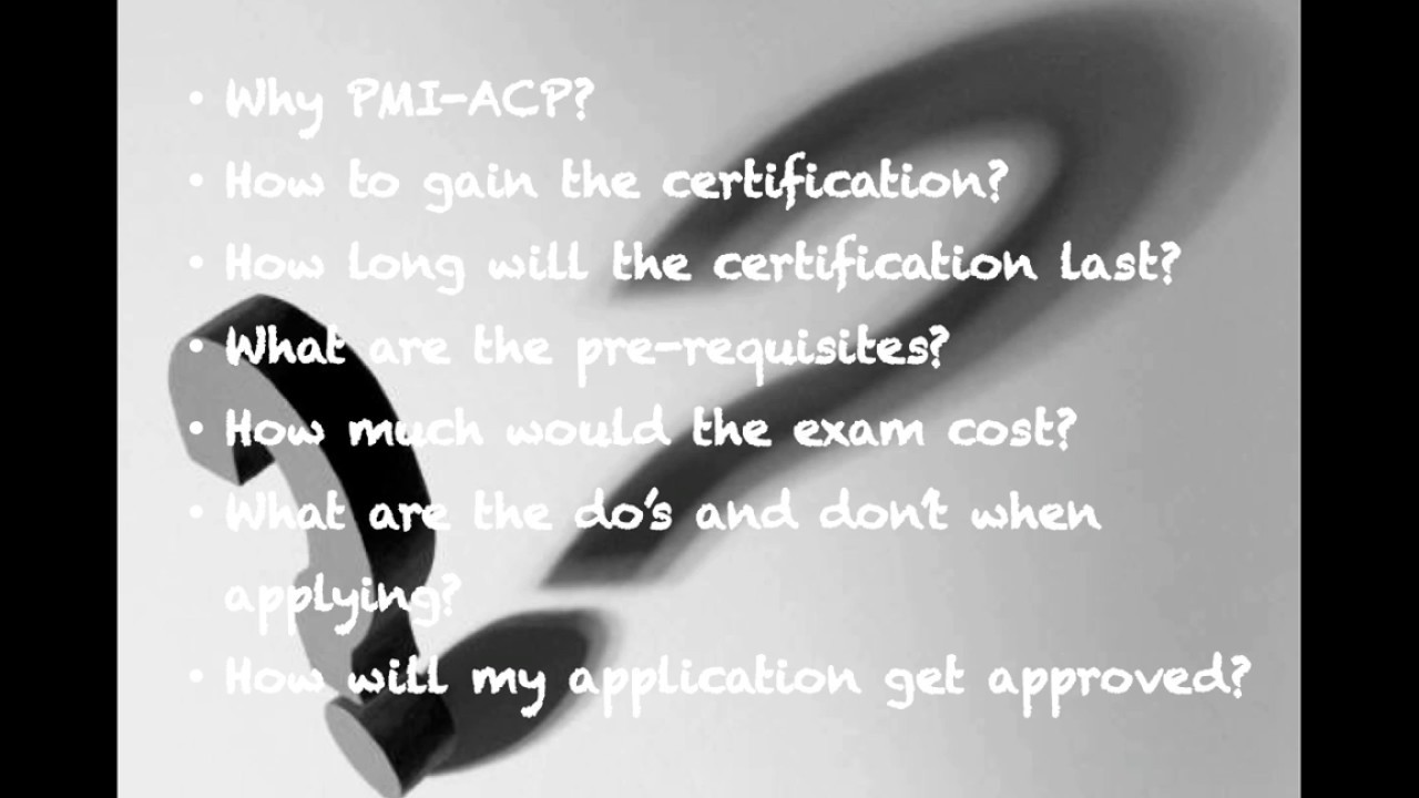 Agile videos 1 pmi acp certification an overview youtube agile videos 1 pmi acp certification an overview xflitez Images