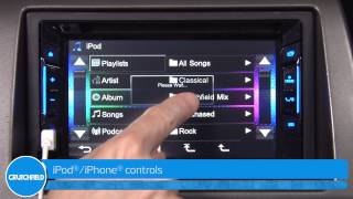 JVC KW-V21BT Display and Controls Demo | Crutchfield Video