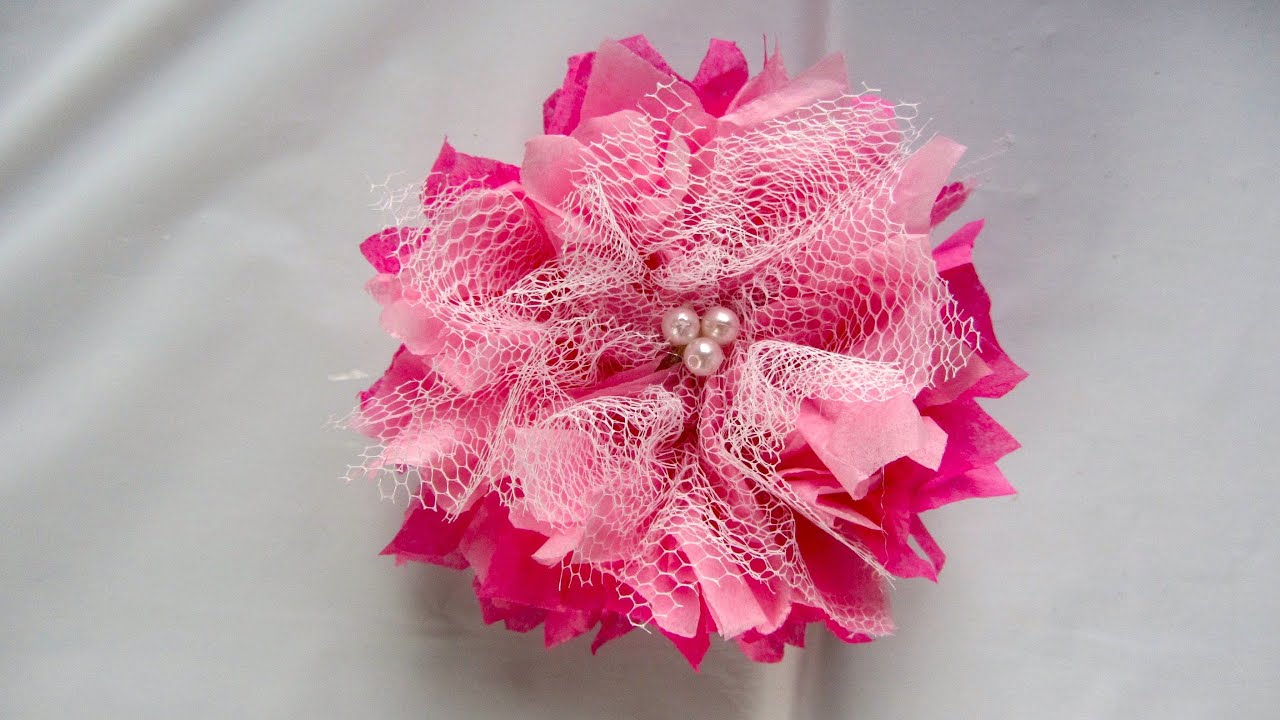 Youtube Tissue Paper Flowers Images Fresh Lotus Flowers