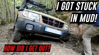 I GOT STUCK IN MUD ! SUBARU FORESTER OFF ROAD