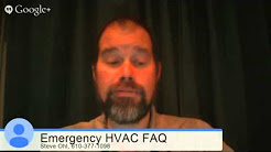 HVAC Emergency Service Call 24 Hours | Allentown & Lehigh Valley