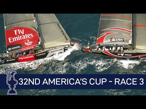 32nd America's Cup Race 3 SUI vs. NZL | AMERICA'S CUP