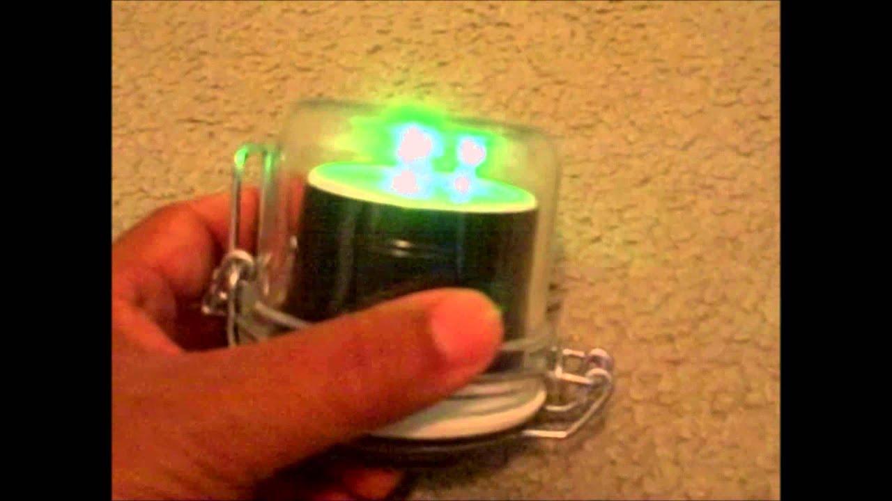 Homemade green led fishing light how long will a 9v for Green led fishing lights