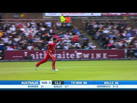 2nd NatWest International T20 -- Australia innings