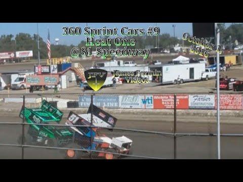 360 Sprint Car Heat Race #5, 81 Speedway