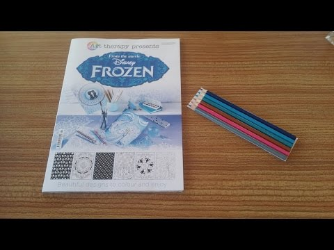 Art Therapy Presents Disneys Frozen Review