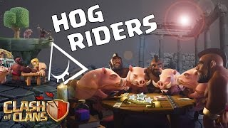 Clash Of Clans - Hog Rider Th9 [B-areji]