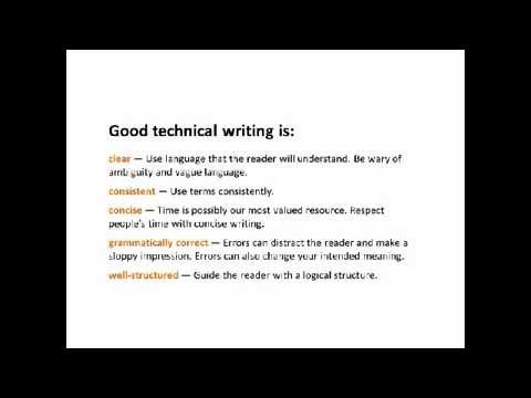 Introduction to Technical Writing Webinar