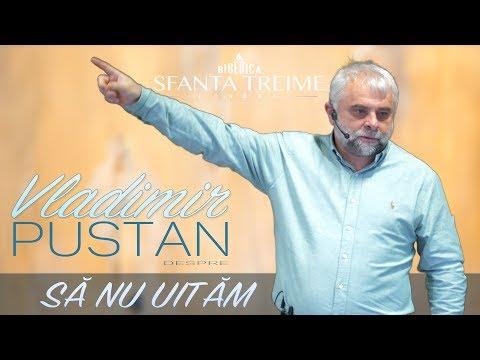 Vladimir Pustan -despre- Să nu uităm • Biserica Sfânta Treime - Londra • Ianuarie 2018