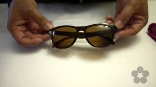 Quick Look: Frogskins® Polished Rootbeer Frame W/ Bronze Polarized Lens #03-224