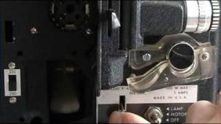 Bell & Howell - Standard 8 - Cine Film Projector