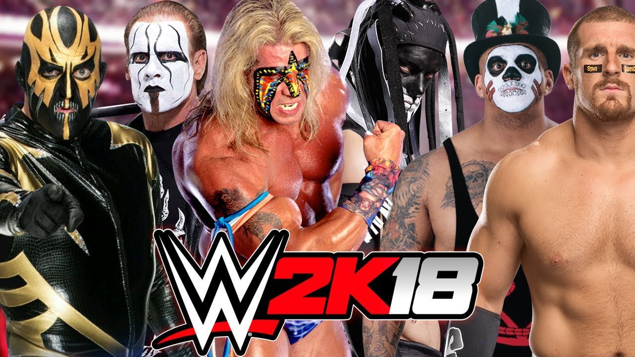 Ultimate Warrior, Sting and Finn Balor WWE 3 Mask