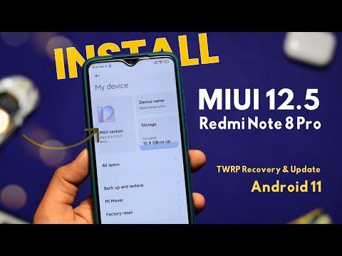 Install MIUI 12.5