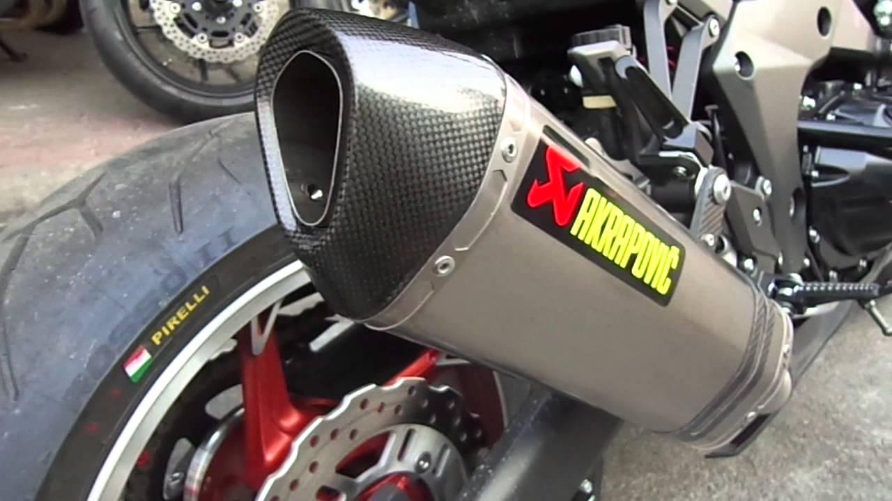 Kawasaki Zakrapovic Exhaust
