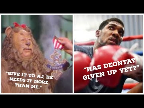 DEONTAY WILDER VS ANTHONY JOSHUA BOUT ALL BUT LOST | JOSHUA MAY NEVER LIVE THIS DOWN