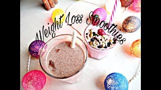 Top Healthy Smoothie Recipes for Weight Loss | Smoothie Weight Loss Challenge