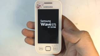 Samsung Wave 575 S5750 factory reset(Power on your phone. Type on keyboard *2767*3855# Wait until the phone restarts. Warning! Do this at your own risk! All your phone data (contacts,photos ..., 2013-06-26T13:45:51.000Z)