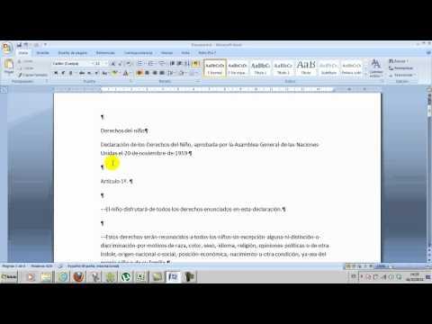 Ofimática Word 05 Copiar texto de Internet y quitar marcas de párrafo Informática Academia Usero