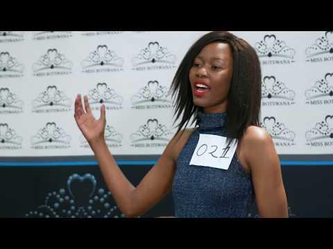 Miss Botswana 2017    I    Auditions