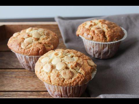 how-to-make-moist-white-chocolate-vanilla-muffins---by-one-kitchen-episode-506
