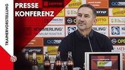 Die PK zur Trainervorstellung | Achim Beierlorzer | 2019/20