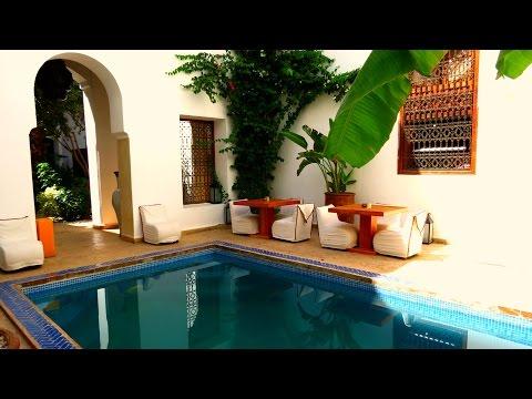 Riad l'Orangeraie - a walk through of this beautiful Marrakech riad