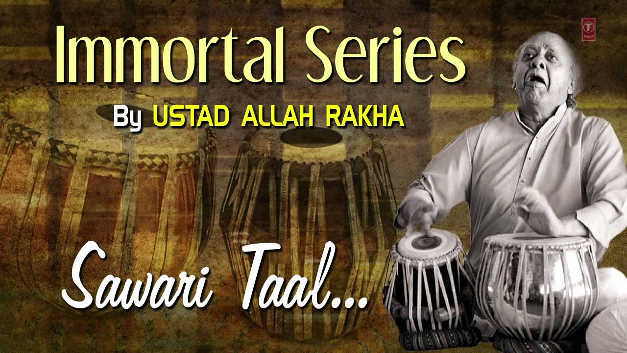 Official : Sawari Taal - Tabla Instrumental | T-Series Classical | Ustad Allah Rakha