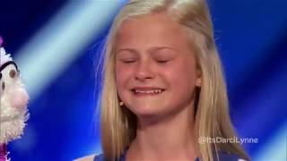 America Got Talent | Best of Darcy Lynn | Extremely Talented Acts Ever.