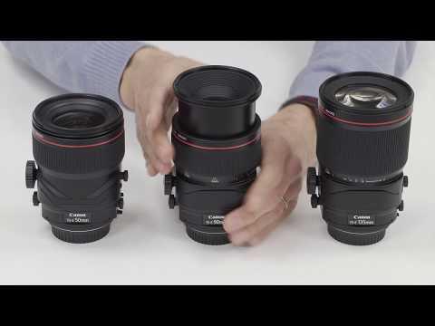 Werking van Tilt-Shift-lens | TS-E 50mm, TS-E 90mm, TS-E 135mm (Dutch)