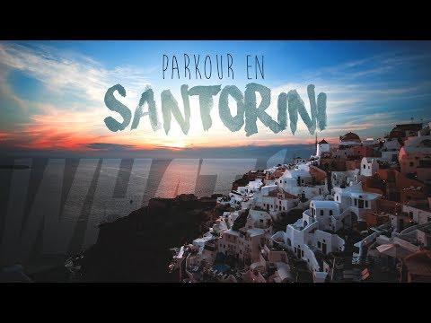 Mi viaje a SANTORINI - GoPro PARKOUR POV | GuilleWhat