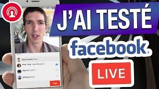 j ai test facebook en direct