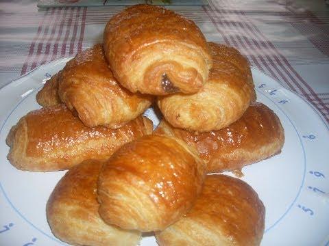 Comment faire des vrais pains au chocolat ou  CHOCOLATINE  Maison