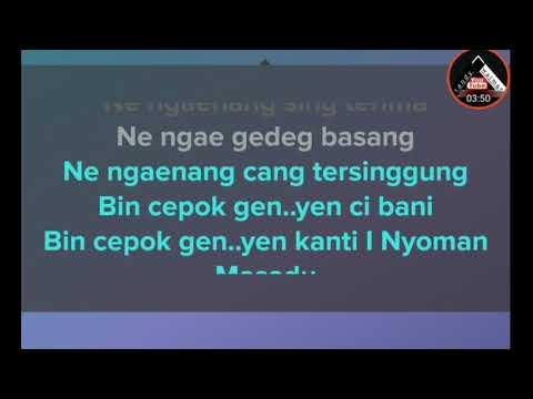 Bin Cepok Gen - Dek Arya (karaoke tanpa vocal)
