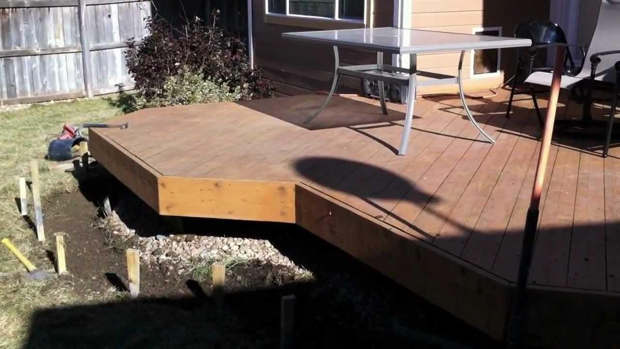 Building Deck Stairs And Steps Part  Denver Deck Builder
